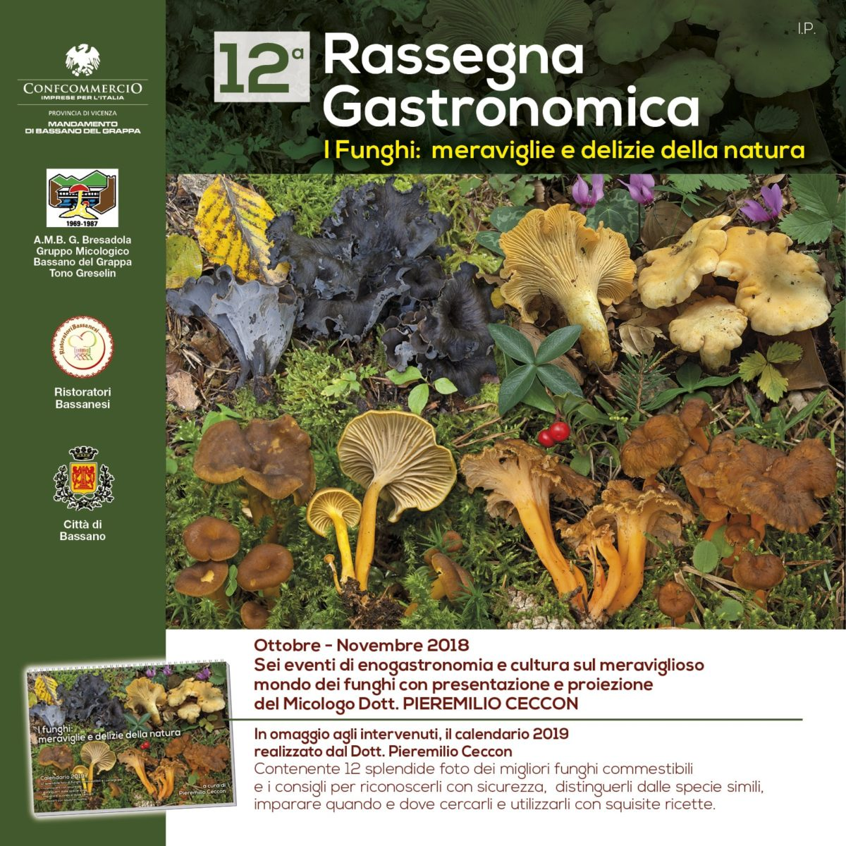 Rassegna funghi Ristoratori Bassanesi